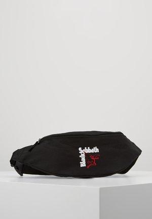 BLACK SABBATH HIP BAG - Rumpetaske - black