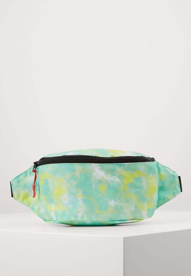 BUMBAG - Bältesväska - neon yellow, white, light green combo