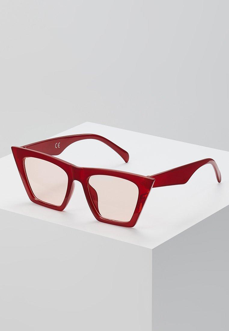 Vintage Supply  - ANGULAR - Sonnenbrille - red