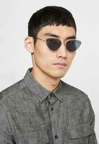 Vintage Supply - POINTY COLOURED LENS SUNGLASSES - Gafas de sol - smoke - 1