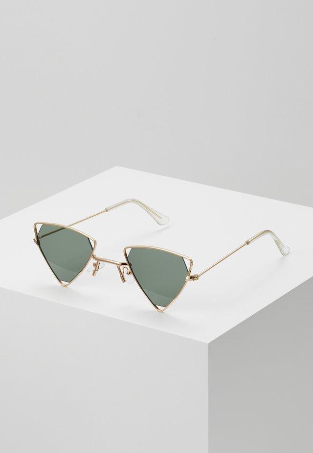 SUNGLASSES - Sluneční brýle - black/gold-coloured