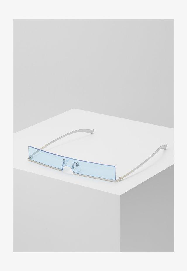 SUNGLASSES - Okulary przeciwsłoneczne - silver-coloured/blue
