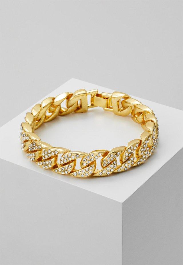 STONE BRACELET - Rannekoru - gold-coloured