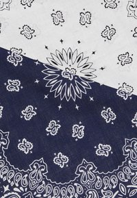 Vintage Supply - 2 PACK BANDANA - Foulard - navy/white - 2