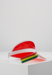 Vintage Supply - CLEAR PERSPEX VISOR - Cap - red - 2