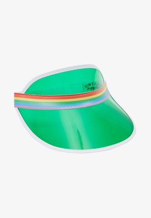CLEAR PERSPEX VISOR - Casquette - green