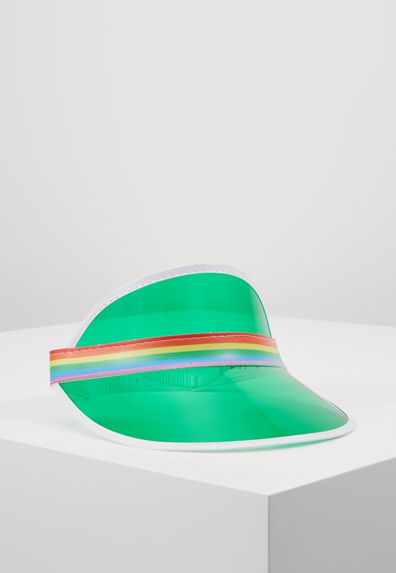 Vintage Supply  - CLEAR PERSPEX VISOR - Cap - green