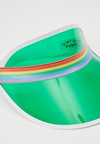 Vintage Supply - CLEAR PERSPEX VISOR - Caps - green - 6