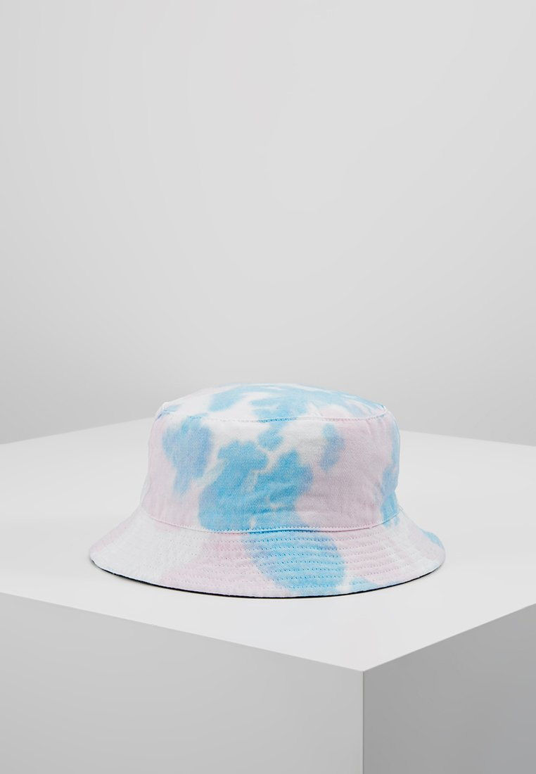 Vintage Supply - TIE DYE REVERSIBLE BUCKET HAT - Hatt - pink/blue