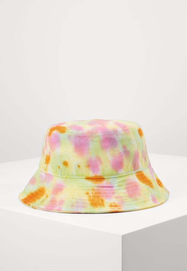 BUCKET HAT - Hatt - green yellow pink