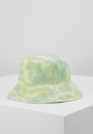 BUCKET HAT - Klobouk - neon yellow/white/light green combo
