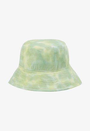 BUCKET HAT - Hatt - neon yellow/white/light green combo