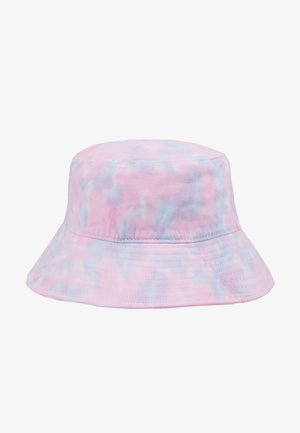 BUCKET HAT - Hut - pink/blue/white