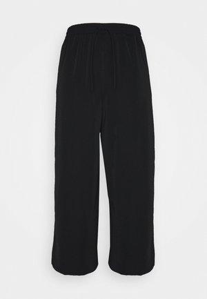 VIBASIKA  PANTS - Pantalones - black