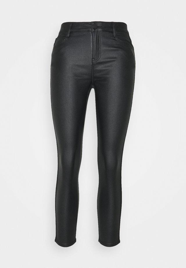 VICOMMIT COATED PANT - Kalhoty - black/silver