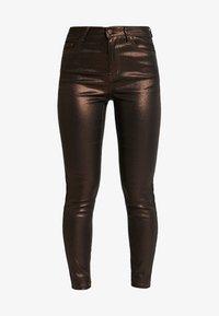 VILA PETITE - VIGLITTIE 7/8 PANTS - Pantalon classique - puce - 3