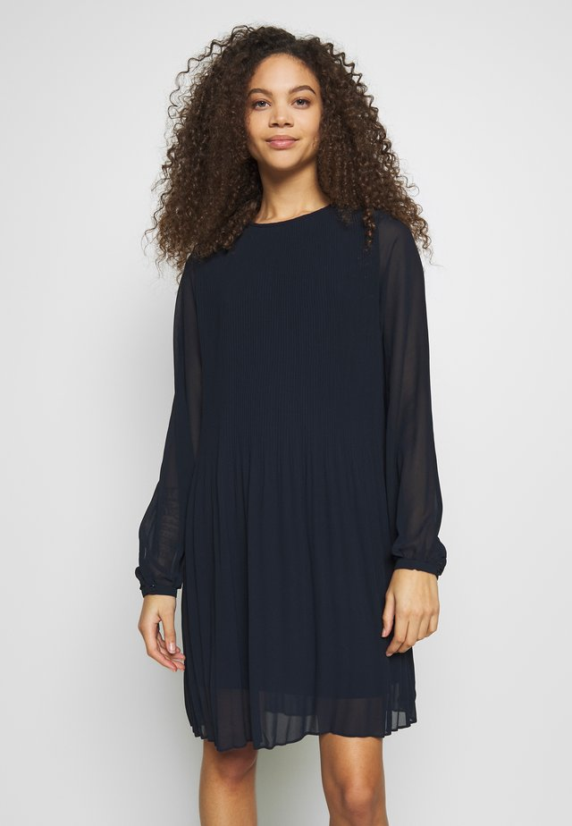 VITONI SHORT DRESS - Day dress - navy