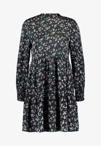 VILA PETITE - VIDAGO SHORT DRESS - Korte jurk - black - 6