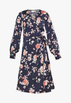 VIWILLA DRESS PETITE - Sukienka letnia - navy blazer