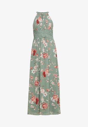 VIMILINA FLOWER DRESS PETIT - Maksimekko - green milieu