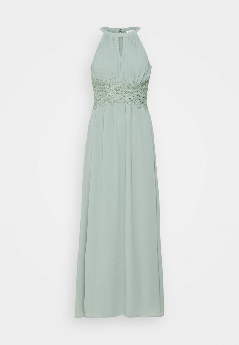 VILA PETITE - VIMILINA HALTERNECK DRESS - Occasion wear - light green