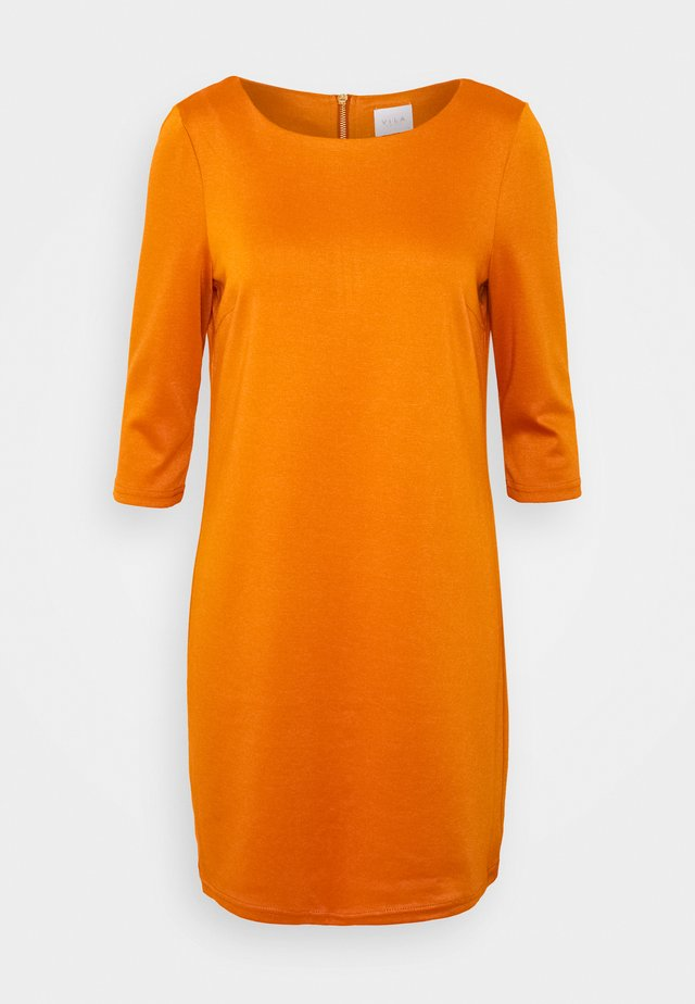 VITINNY NEW DRESS - Jerseyjurk - pumpkin spice