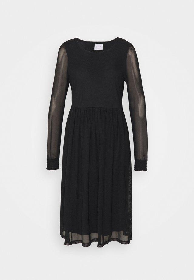 VIVOLETTE MIDI DRESS - Day dress - black