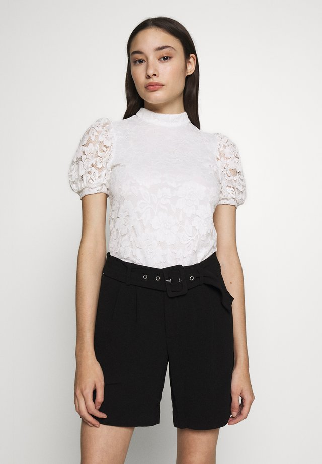 VILILJA PUFF SLEEVE PETITE - Blouse - cloud dancer