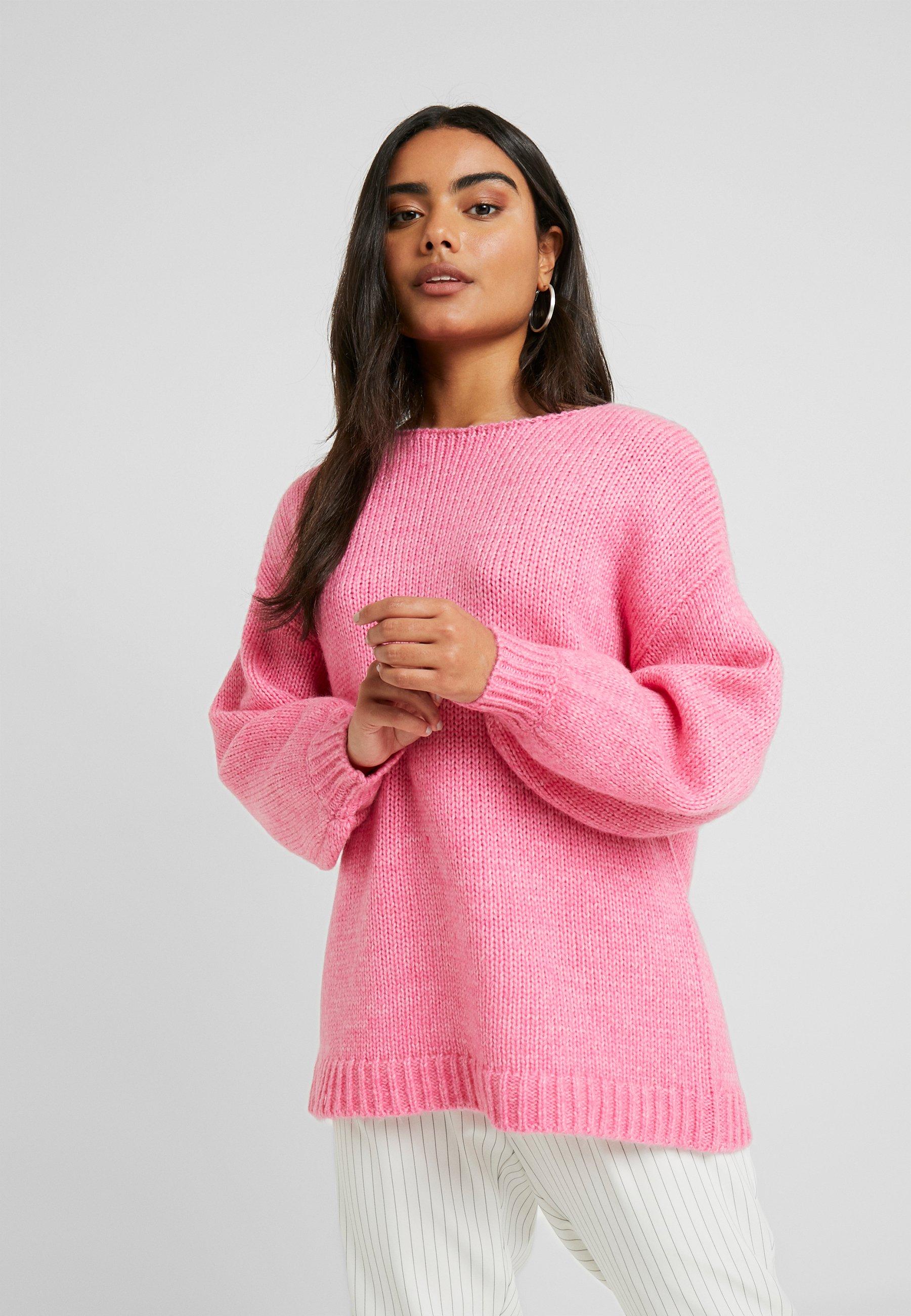 VILA PETITE VIDAYA - Sweter - raspberry