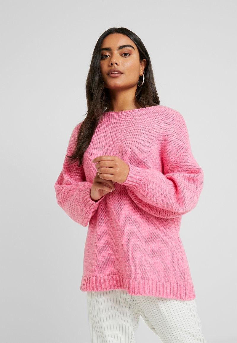 VILA PETITE - VIDAYA - Sweter - raspberry