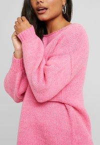 VILA PETITE - VIDAYA - Sweter - raspberry - 5