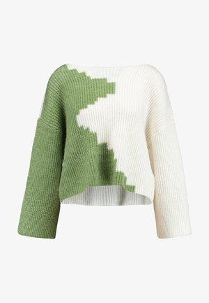 VILOUI PETITE - Jumper - loden frost/whisper white
