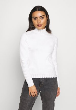 VIOLIVI FUNNELNECK - Pullover - whisper white