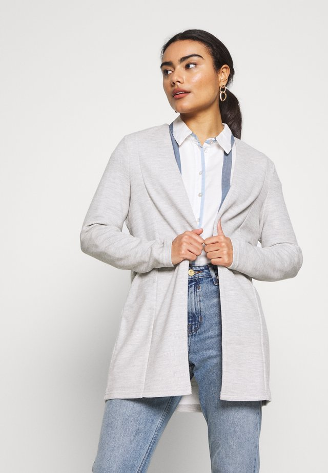 VISAVIA - Cardigan - light grey melange