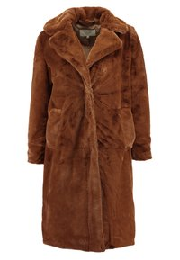 VILA PETITE - VIKODA COAT - Zimní kabát - toffee - 0