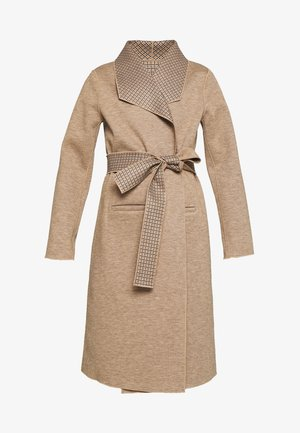 VIJUICE 2IN1 CHECK COAT - Manteau classique - natural melange