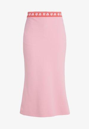 GONNA TESSUTO - Spódnica trapezowa - pink