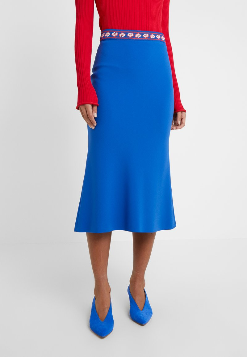 Vivetta - GONNA TESSUTO - A-line skirt - bluette