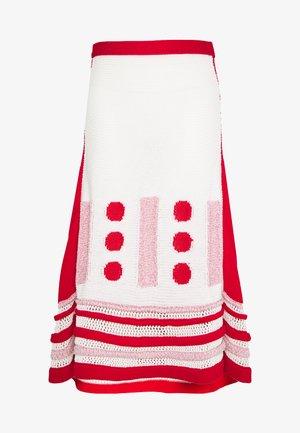 SKIRTS - A-lijn rok - fantasia/bianco/rosa/rosso