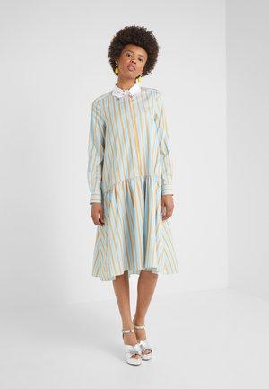 ABITO - Sukienka letnia - azzurro/arancio