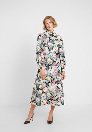 Sukienka letnia - nero/rosa
