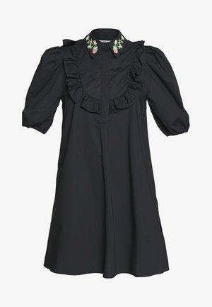 DRESS - Robe chemise - black