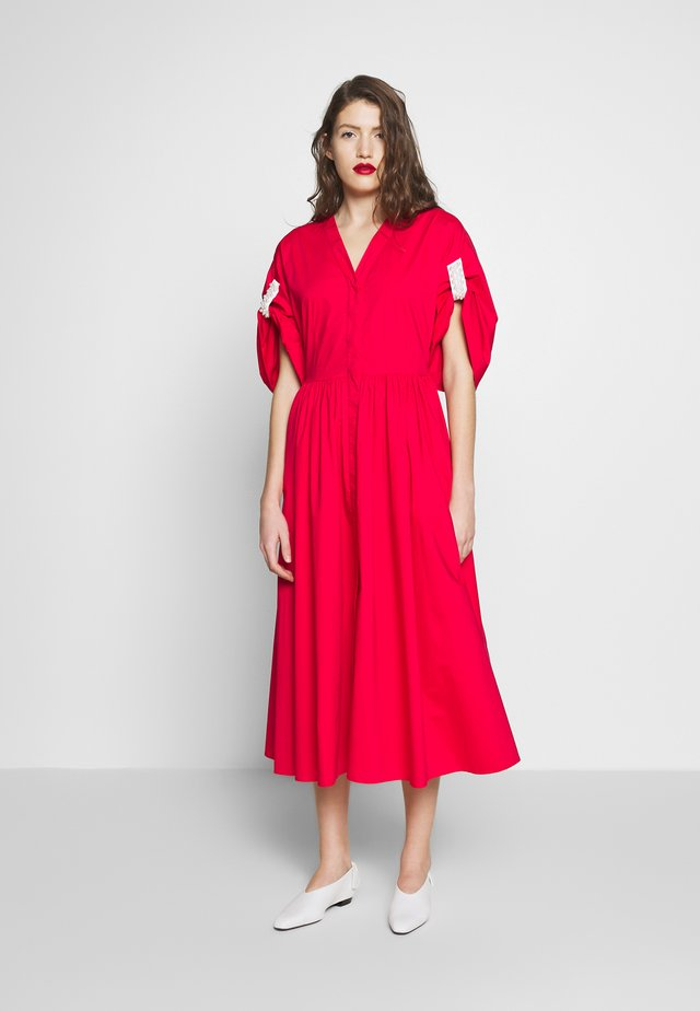 DRESS - Korte jurk - red