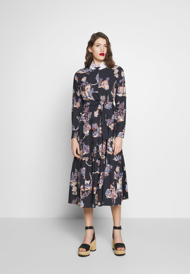 Vivetta - DRESS - Shirt dress - dark blue