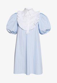 Vivetta - DRESS - Skjortekjole - rigato fondo azzurro/bianco - 5