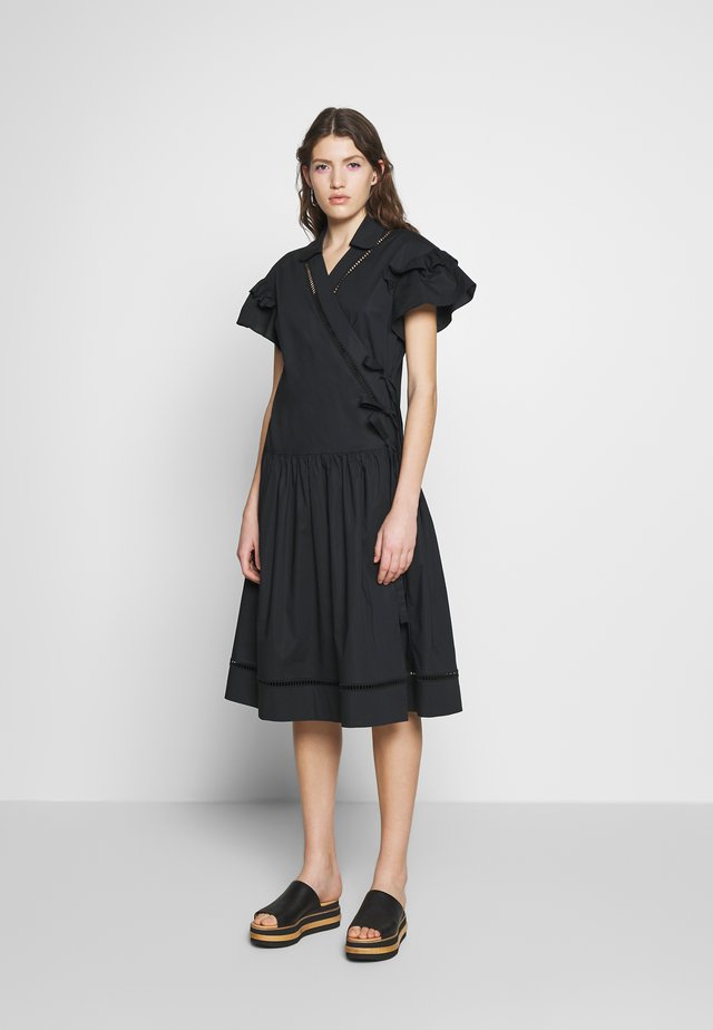 DRESSES - Korte jurk - black