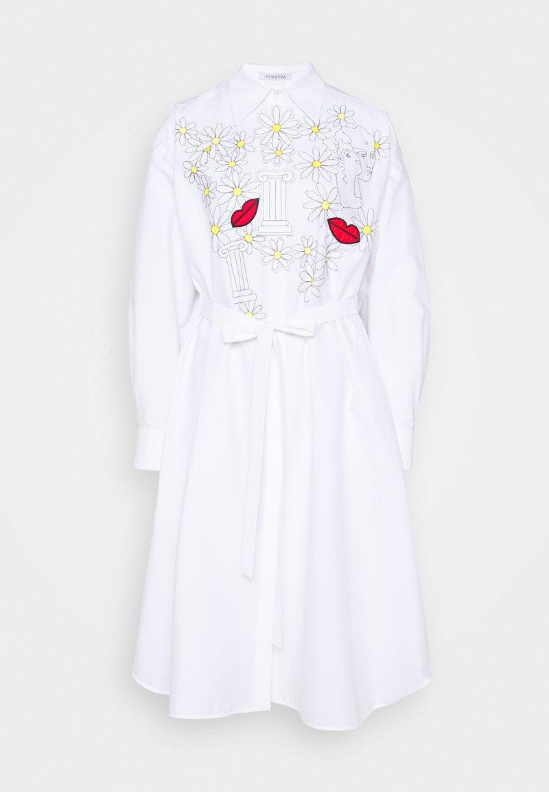 Vivetta - DRESSES - Blusenkleid - white