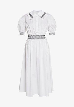 DRESSES - Košilové šaty - white