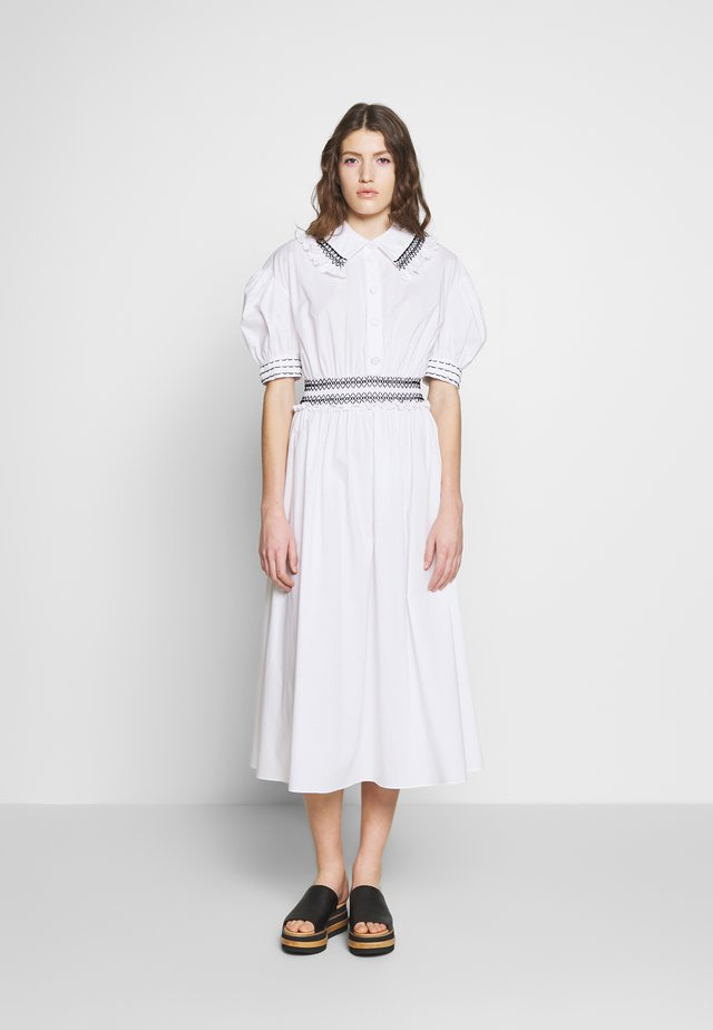 DRESSES - Shirt dress - white