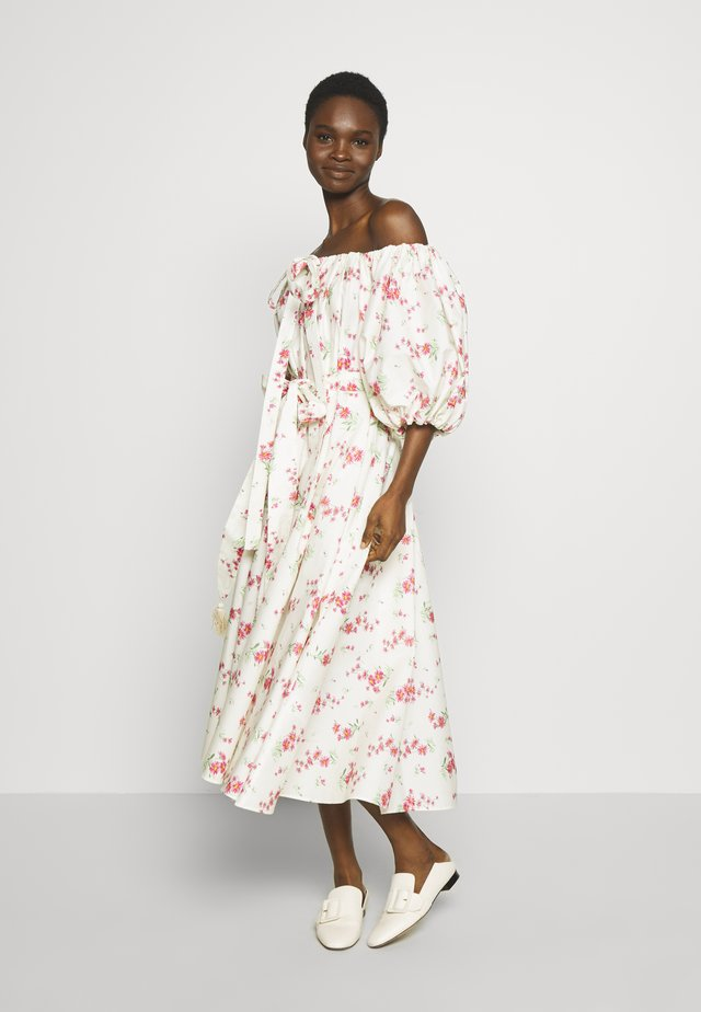 DRESSES - Day dress - panna/fuxia